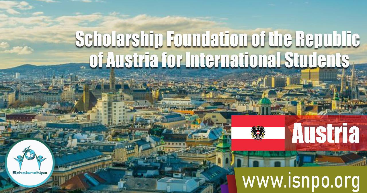 Scholarship Foundation of the Republic of Austria for International Students