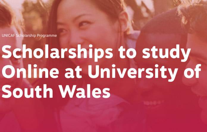 UNICAF Scholarships 2017/2018 (To Study Online at University of South Wales)