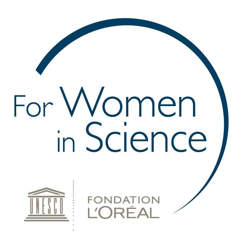 L'Oréal-UNESCO for Women in Science Awards 2019 for female researchers.