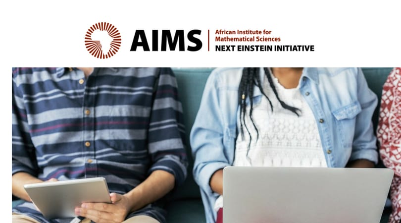 The African Institute for Mathematical Sciences (AIMS) 2018 Small Research Grants in Climate Change Science (USD 10 000 per Grantee)