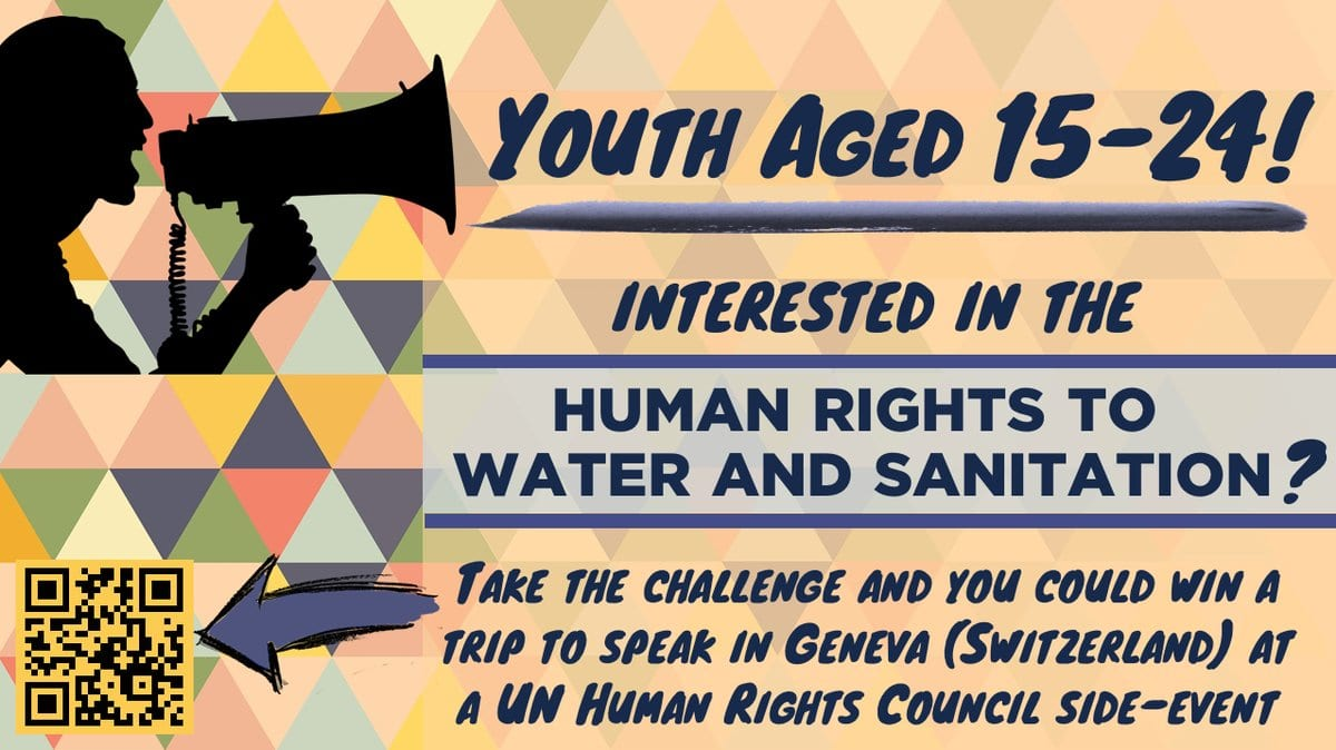 UN Special Rapporteur Human Rights Youth Challenge 2018 (Win a trip to Geneva, Switzerland)