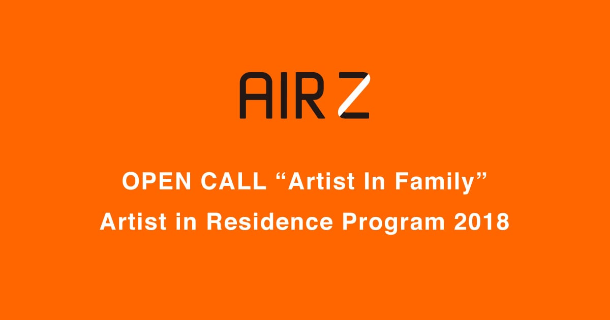 Artist in Residence ZERODATE (AIRZ) Residency Program 2018 for young people (Fully Funded to Japan)