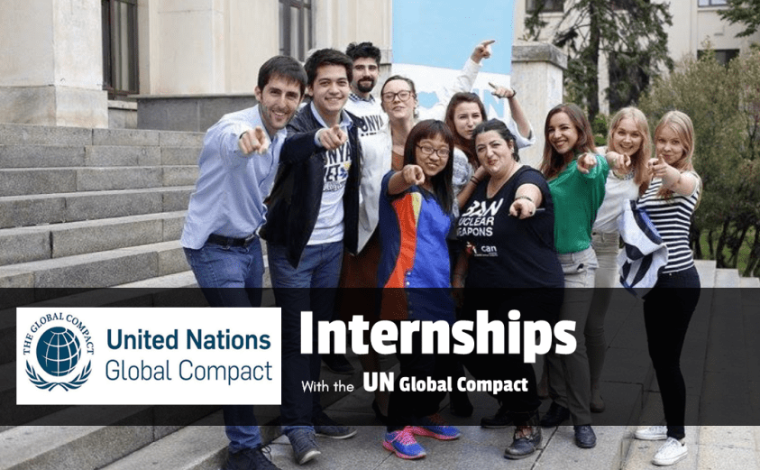 United Nations Global Compact Internship Fall 2018 for Young Professionals – New York, USA.