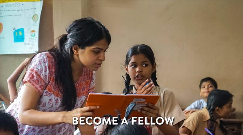Teach For India Fellowship Program 2019-2021 (Funded)