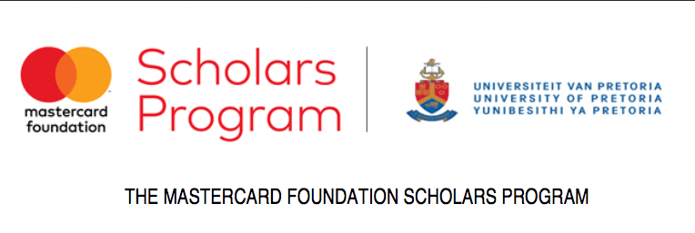 University of Pretoria MasterCard Foundation Undergraduate & Postgraduate Scholars Program (MCFSP) 2019 for study in South Africa (Fully Funded)
