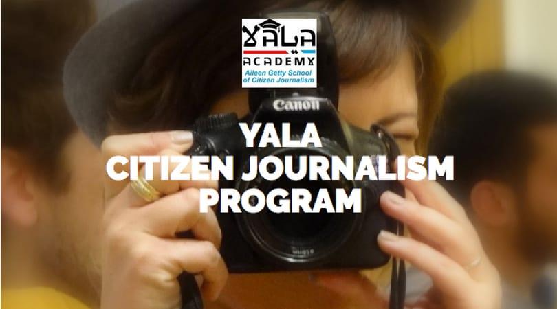 YaLa Academy's Aileen Getty School of Citizen Journalism 2018