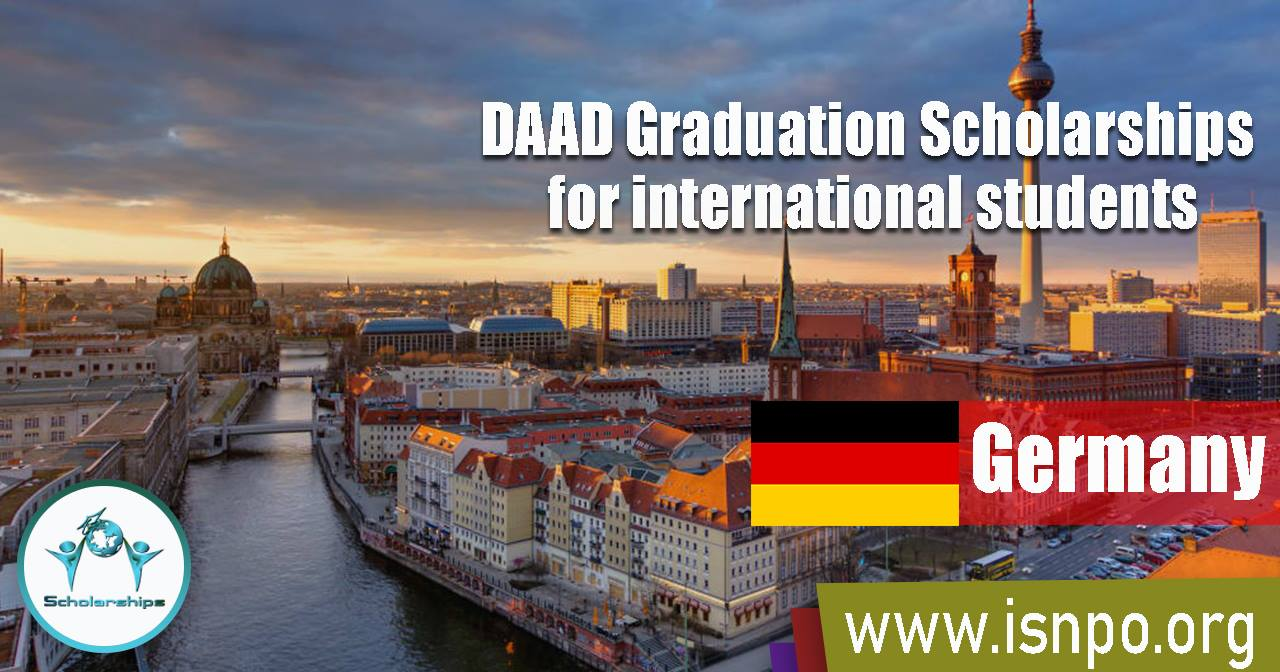 DAAD Graduation Scholarships for international students in Germany