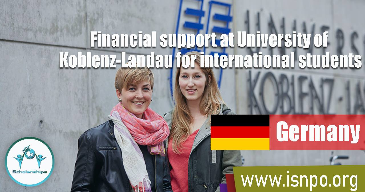 Financial support at University of Koblenz-Landau for international students