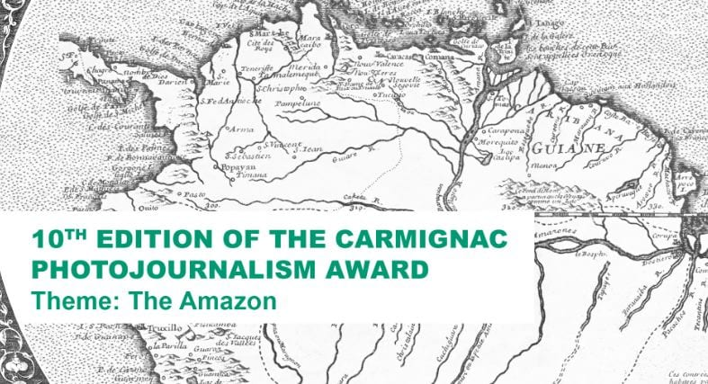 Carmignac Foundation Photojournalism Award 2018 (50,000 Euros)
