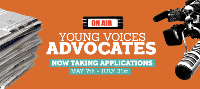 Young Voices' Advocate Program 2018