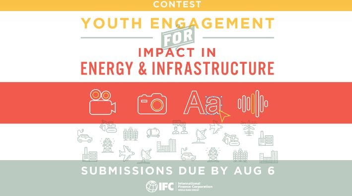 IFC/IYF Contest for Youth Engagement in Energy, Water & Transport 2018