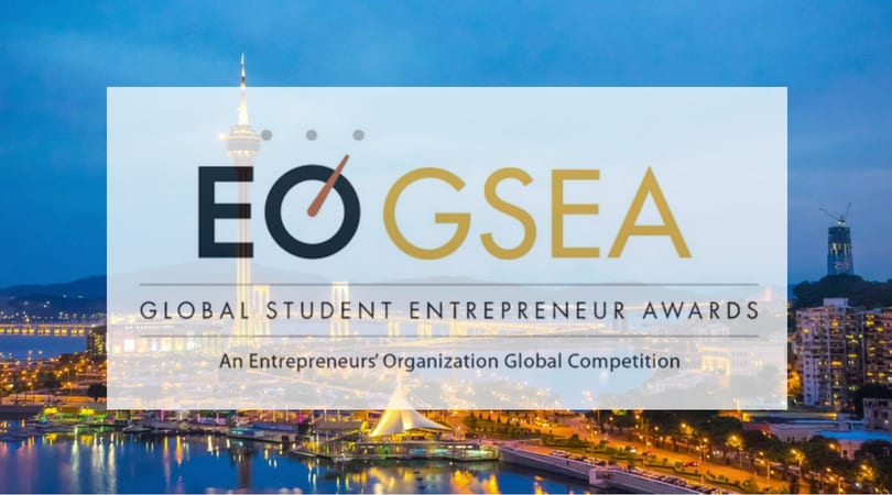 Entrepreneurs' Organization's Global Student Entrepreneur Awards (GSEA) 2018/19 (Fully-funded to Macau, China)