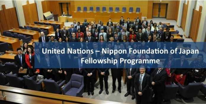 UN/ Nippon Foundation of Japan Fellowship Programme 2019 (Fully Funded)