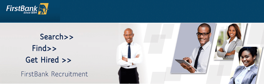 First Bank of Nigeria Plc Graduate Trainee Recruitment 2018 for young Nigerians