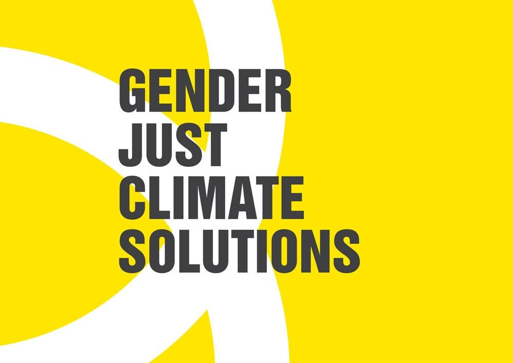 Women and Gender Constituency (WGC) Gender Just Climate Solutions Awards 2018 (Seed Grant of 2000 Euros)