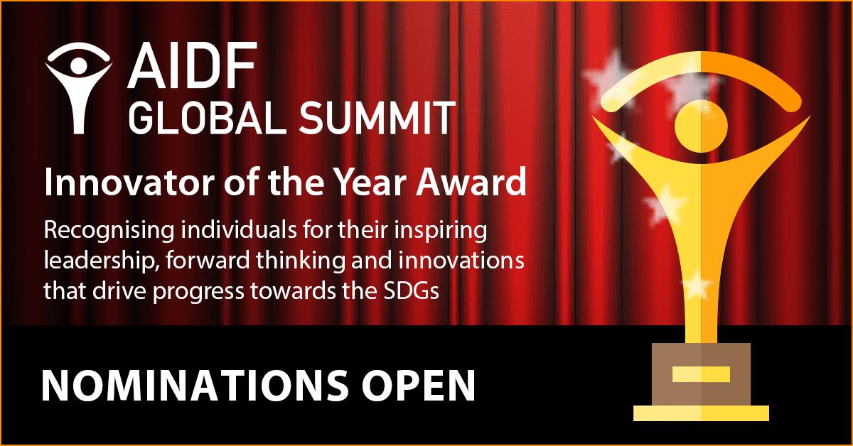 AIDF Global Summit – Innovator of the Year Award 2018