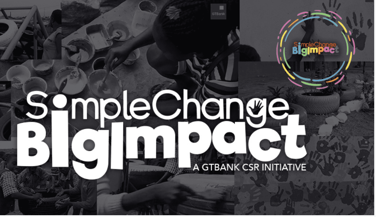 GTBank Simple Change Big Impact Challenge 2018 for Nigerians (Win N1million Naira)