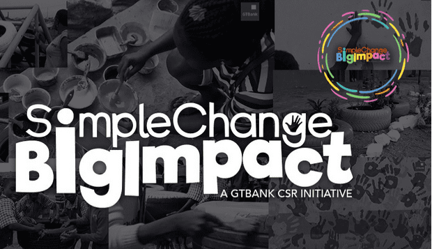 GTBank Simple Change Big Impact Challenge 2018 for social impact projects ( N1 million Naira prize)