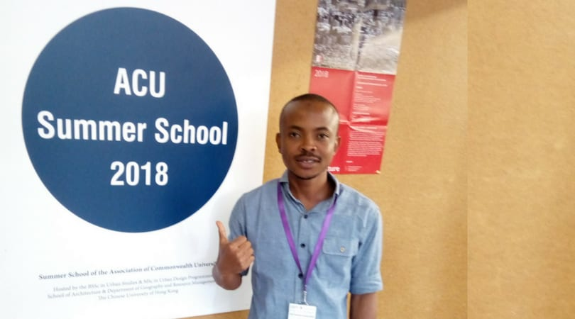 Rabiu Mamman Selected for the Association of Commonwealth University Summer School in Hong Kong!