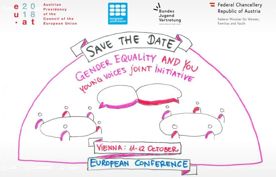'Gender Equality and You' Conference 2018 in Vienna, Austria (Funded)
