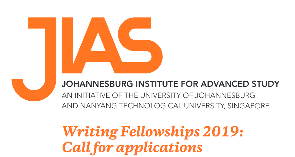 Johannesburg Institute for Advanced Study (JIAS) Writing Fellowships 2019 (Funded)