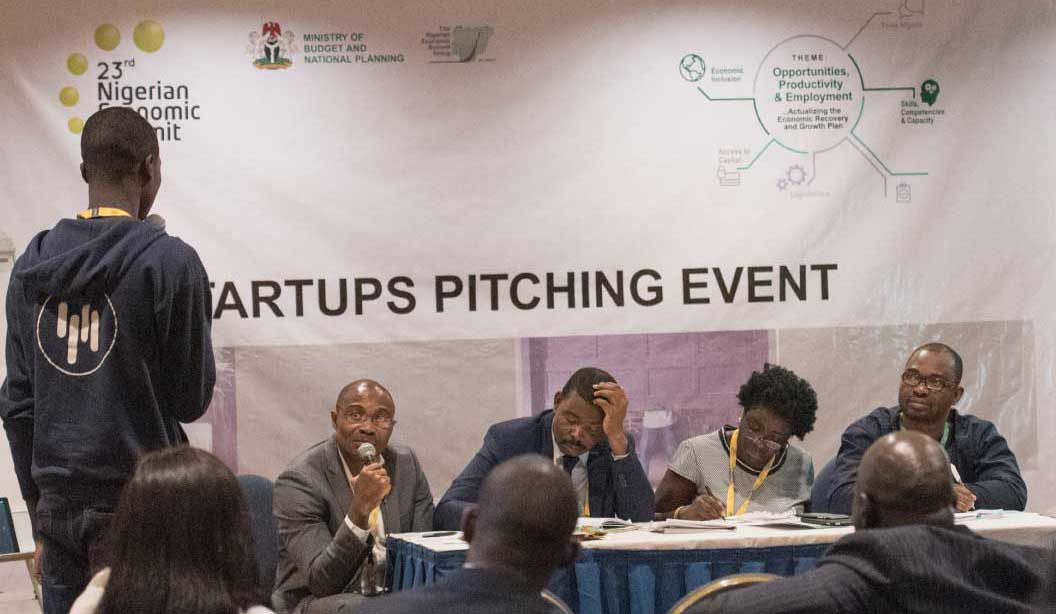 The Nigerian Economic Summit Group (NESG) NES #24 Startups Pitching Event 2018 for early-stage startups in Nigeria