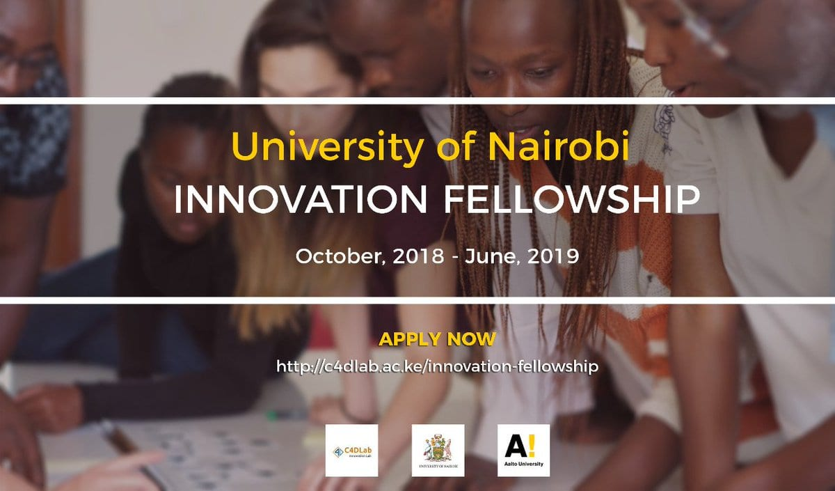 University of Nairobi Innovation Fellowship 2018 for young changemakers