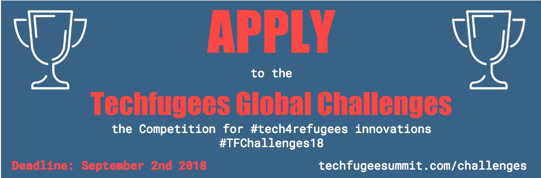 Call for Innovators: Tech4refugees Innovation Competition 2018