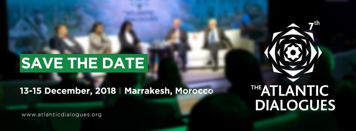 OCP Policy Center Atlantic Dialogues Emerging Leaders Program 2018 in Marrakesh, Morocco (Funded)