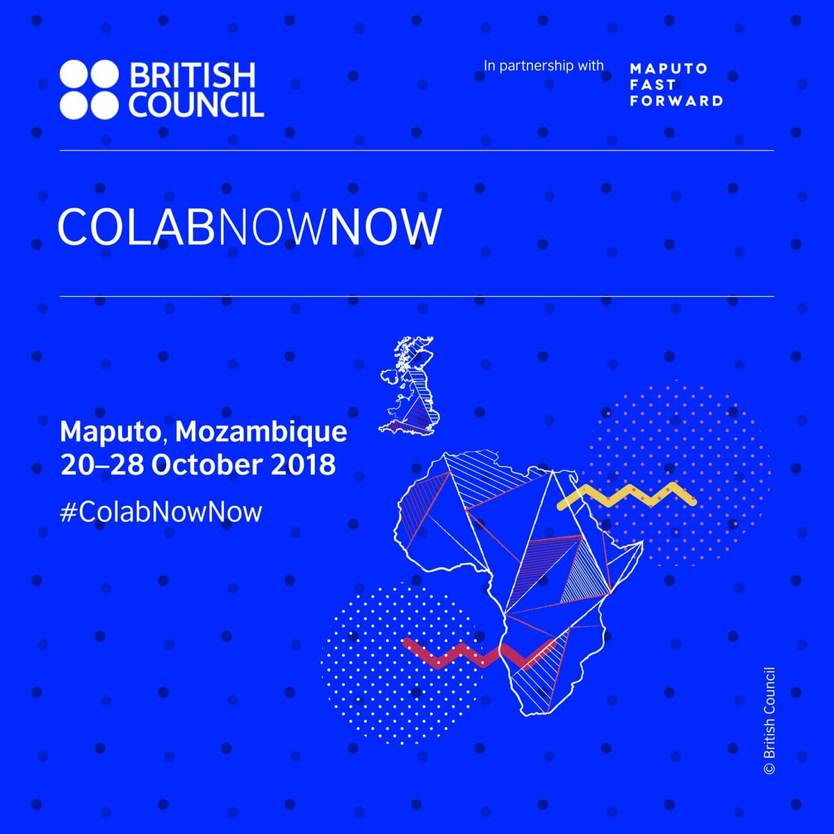 British Council SouthernAfricaArts ColabNowNow 2018 for young digital creatives – (Fully Funded to Maputo, Mozambique)