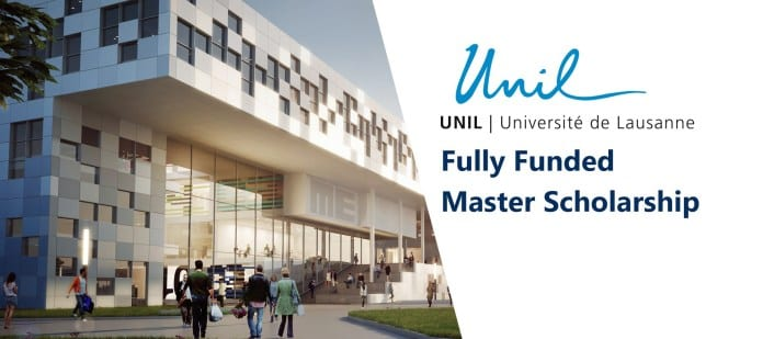 Universite de Lausanne (UNIL) Masters Scholarship 2018-2019