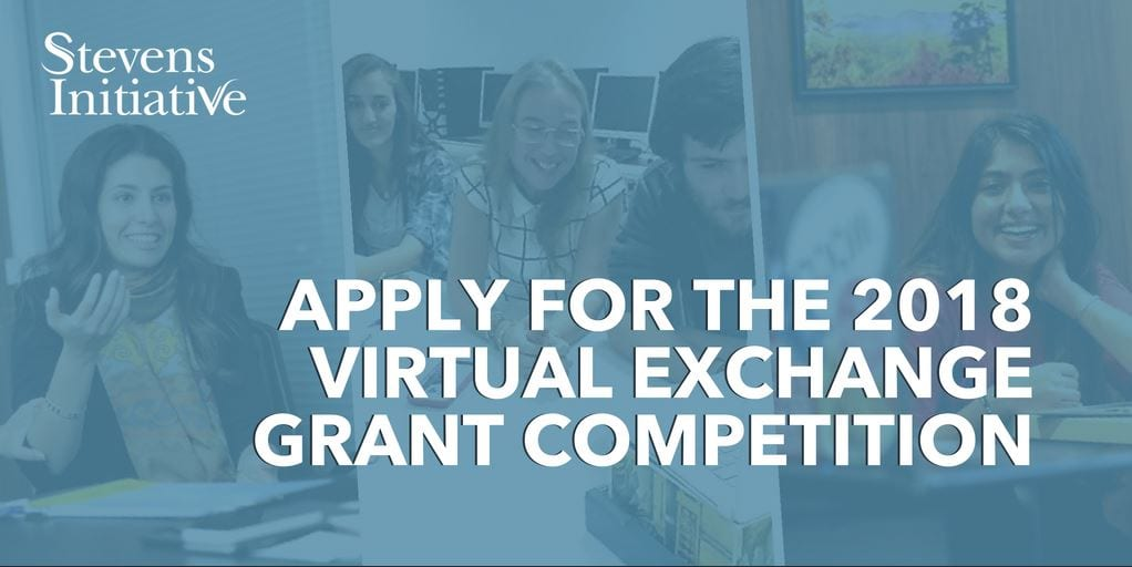 Stevens Initiative Virtual Exchange Grant Competition 2018 for U.S. and MENA region