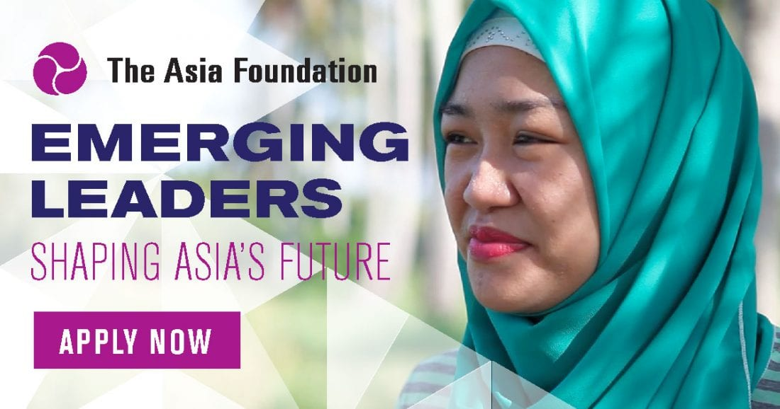 Asia Foundation Development Fellows Program 2019 (Fully-funded to South Korea, Indonesia, and USA)