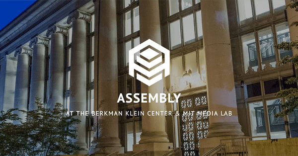 Berkman Klein Center & the MIT Media Lab's Assembly Program 2019 in Cambridge (Stipend Available)