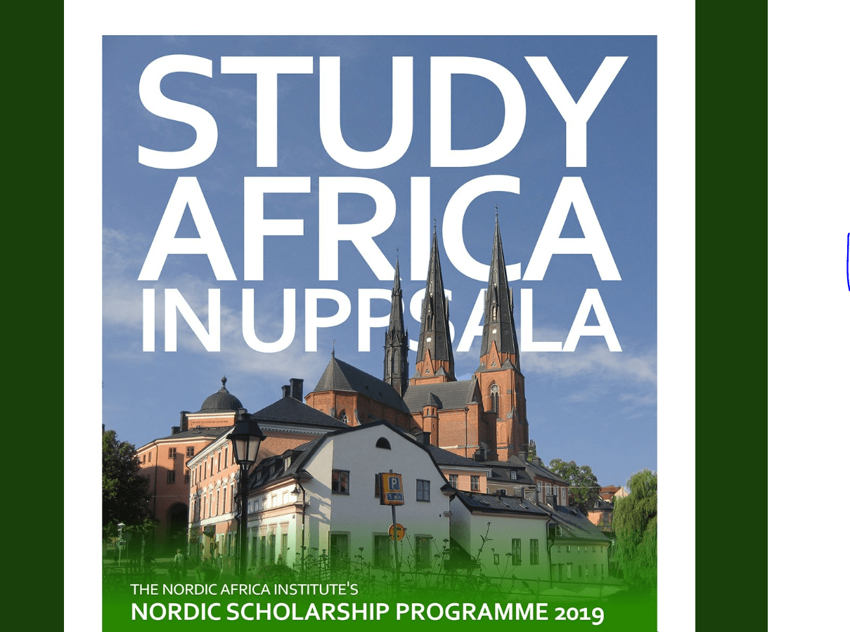 Nordic Africa Institute's Nordic Scholarship Programme 2019 for Africa-oriented studies in the Nordics (Funded)