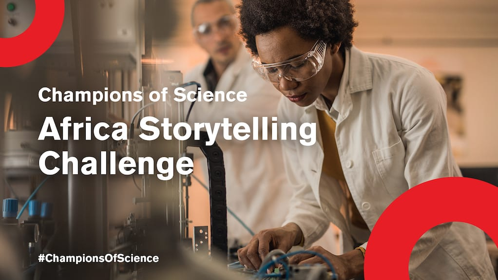 Johnson & Johnson Innovation Champions of Science Africa Storytelling Challenge 2018 for Scientists & Innovators ($5,000 USD prize)