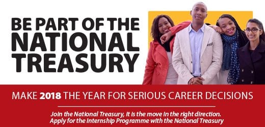 The National Treasury Chartered Accountants Academy Programme 2018 for young South Africans
