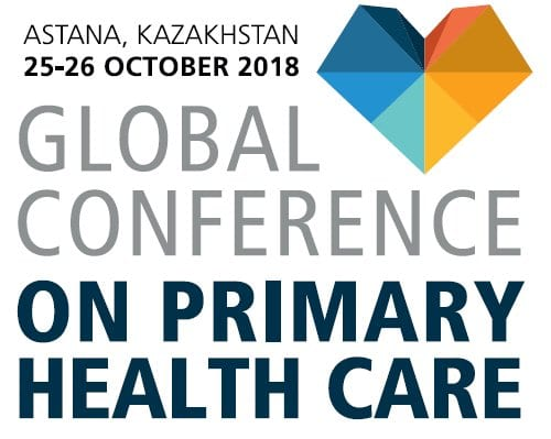 WHO Global Conference on Primary Health Care (PHC) Young Leaders Network for Health Professionals (Funded to Astana,Kazakhstan)