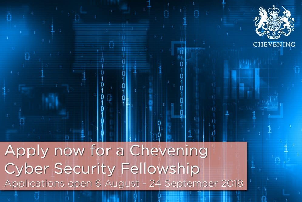 Chevening Western Balkans Cyber Security Fellowship 2019