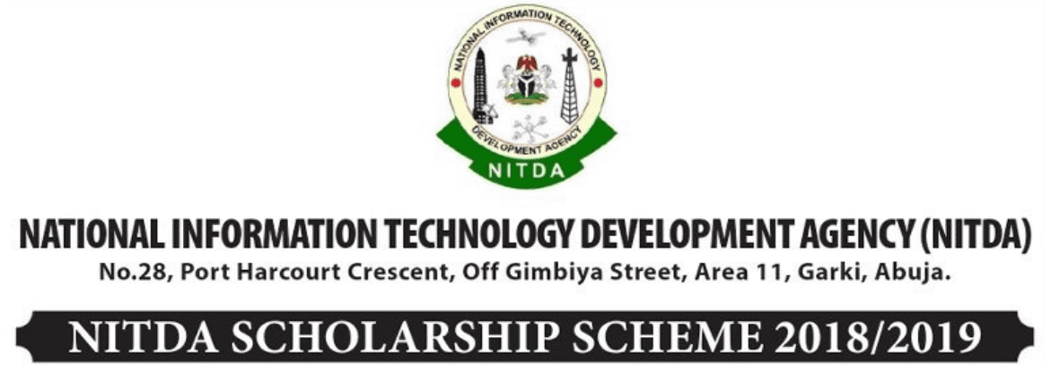 National Information Technology Development Agency (NITDA) 2018/2019 (Masters & PhD) Scholarship Scheme for Nigerians