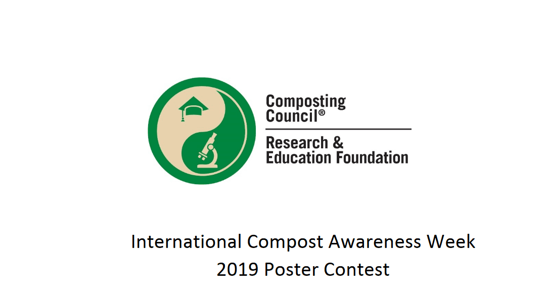 The International Compost Awareness Week (ICAW) 2019 Poster Contest ($500 prize)