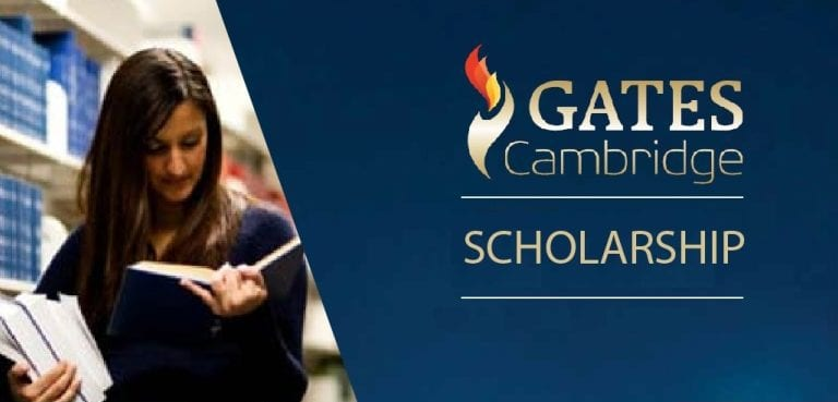 Apply: Gates Cambridge Scholarship Programme 2019 to Study in the UK (Fully-funded)