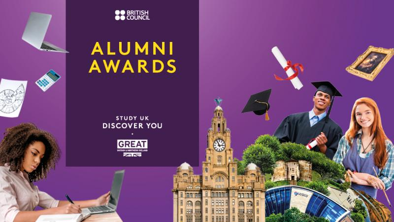 British Council Alumni Awards 2018/2019 for Young Professionals who studied in the UK.