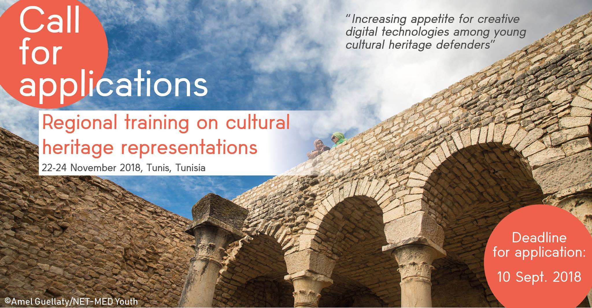 UNESCO 2018 Regional training on cultural heritage representations (Fully Funded to Tunis,Tunisia)