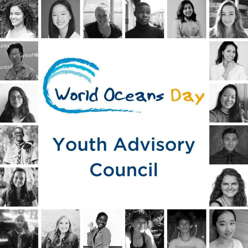 World Oceans Day Youth Advisory Council 2019 call for young ocean leaders