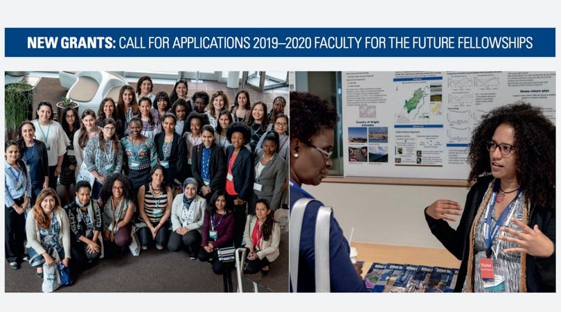 Schlumberger Structure Professors for the Future Fellowship 2019/2020 Grants for Females in Scientific Research (USD 50,000 each year)