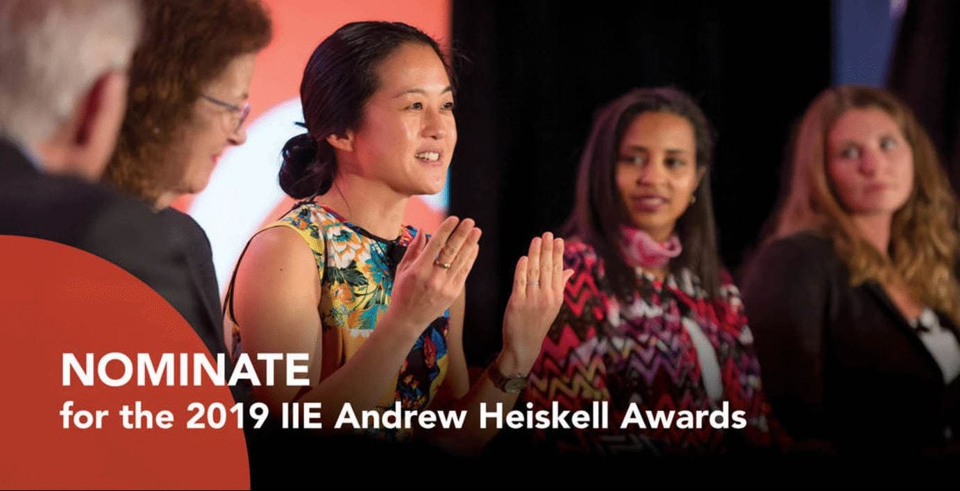 2019 Andrew Heiskell Awards for Development in International Education