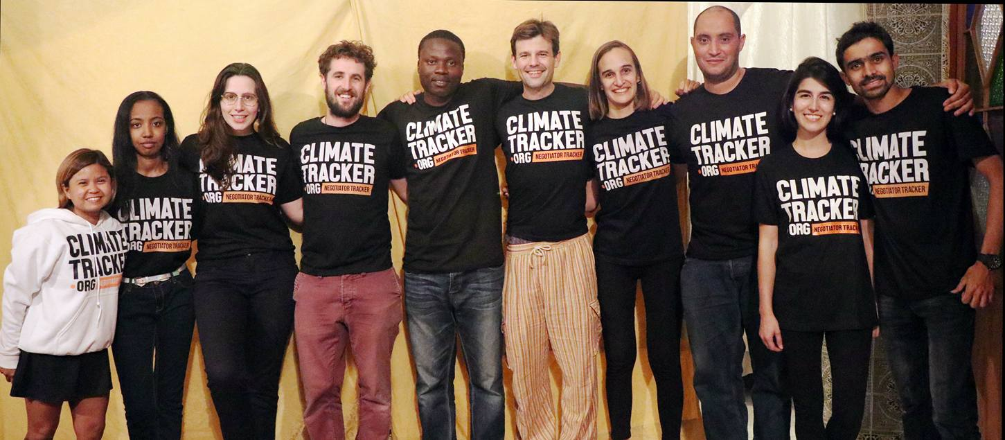 Environment Tracker #DietChangeNotClimateChange Composing Competitors 2018