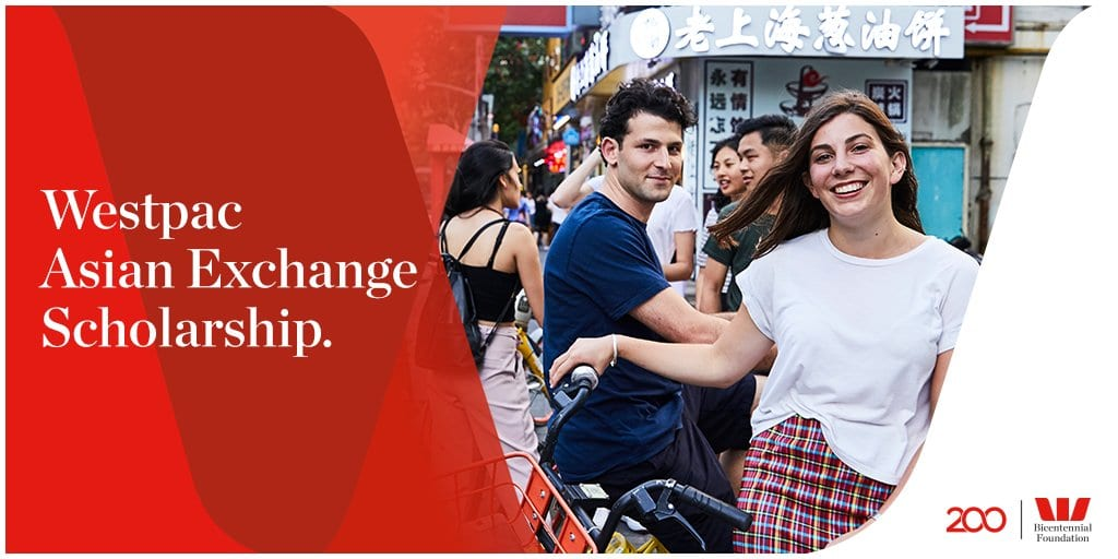 Westpac Asian Exchange Scholarships 2019 for Australians to Research Study in Asia
