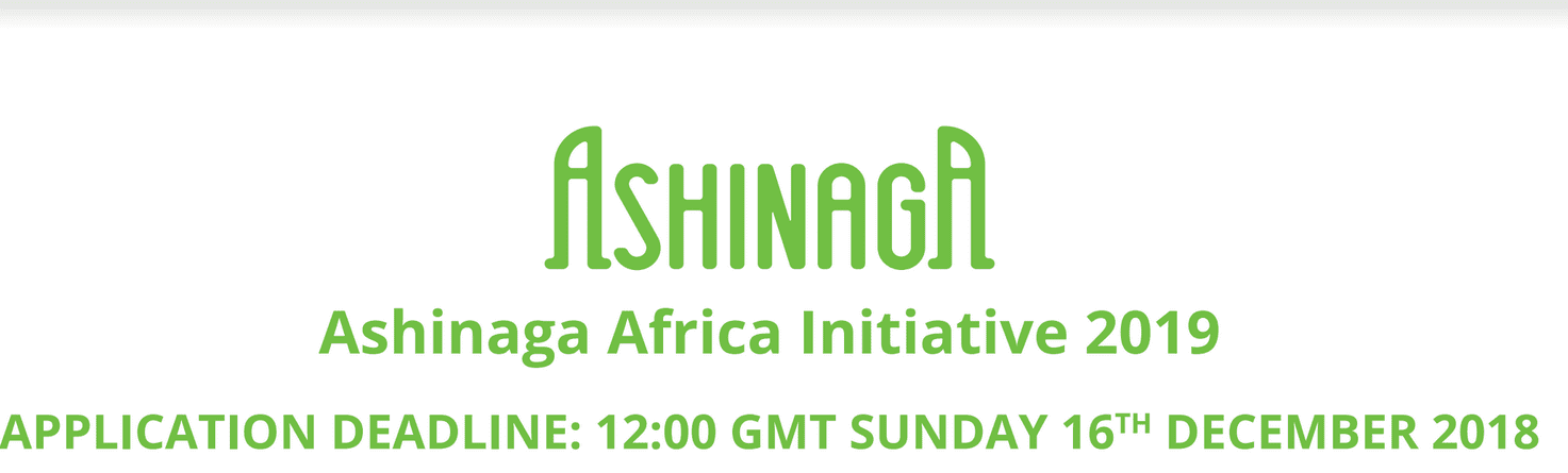 Ashinaga Africa Effort 2019 management program for young African orphans (Totally Moneyed to study abroad)